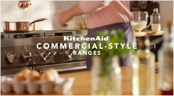 Commercial-Style Performance and SMART Capabilities With KitchenAid®
