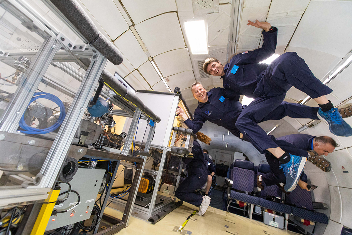 Joint team builds refrigerator for use in space with help of Whirlpool Corporation engineers
