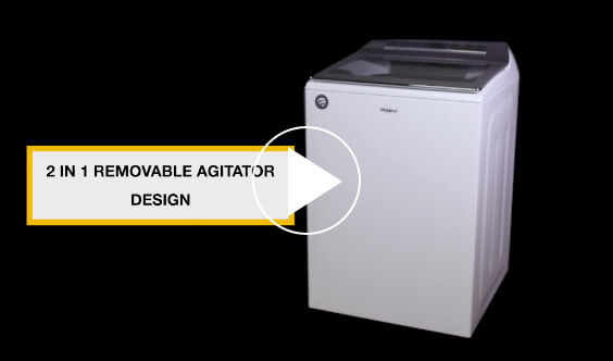 The Design of the 2 in 1 Removable Agitator